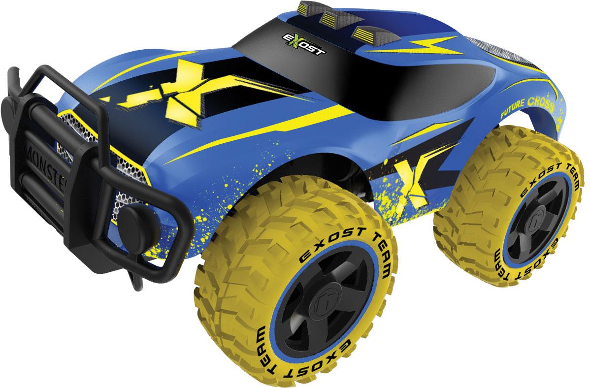 Silverlit Машина на радиоуправлении Футур Кросс цвет синий желтый silverlit футур кросс на р у te119