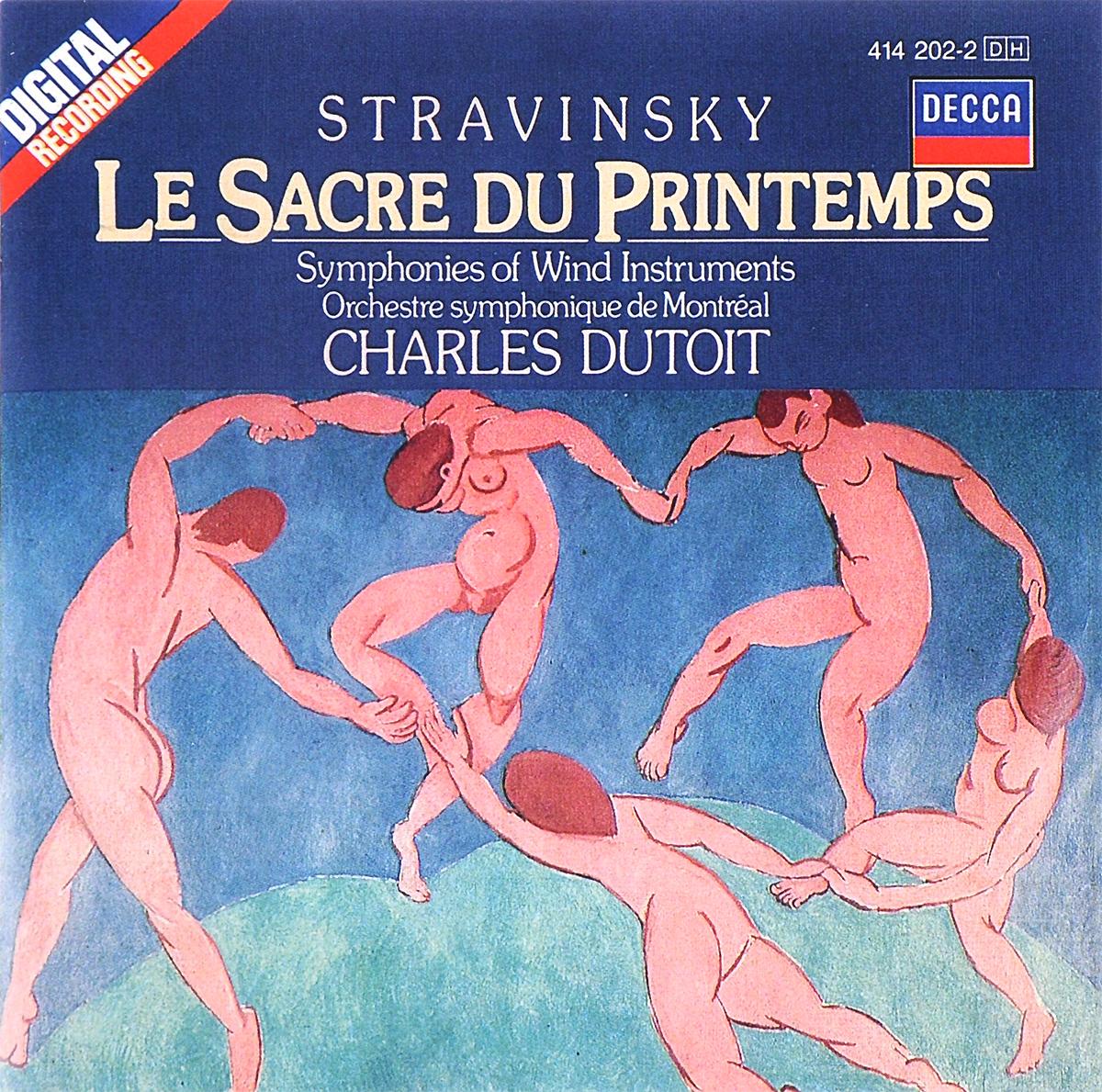 Orchestre Symphonique De Montreal,Шарль Дютуа Charles Dutoit. Stravinsky. Le Sacre Du Printemps / Symphonies Of Wind Instruments цена