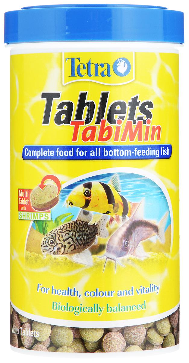 Корм Tetra Tablets TabiMin для всех видов донных рыб, 500 мл (310 г), 1040 таблеток tetra tabimin