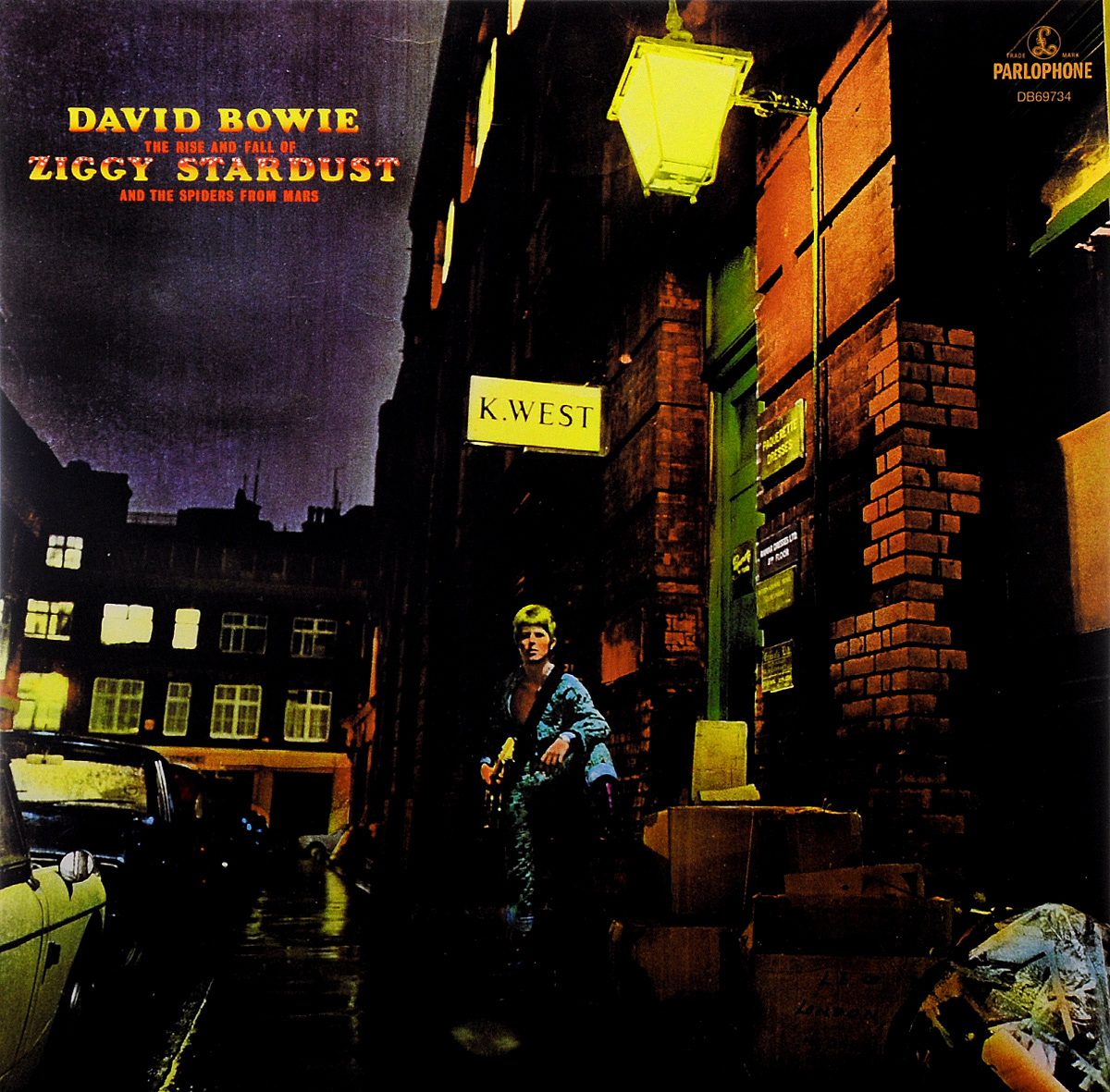 Дэвид Боуи David Bowie. The Rise And Fall Of Ziggy Stardust And The Spiders From Mars (LP)
