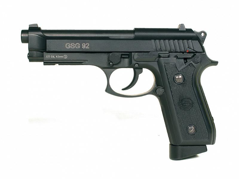 "Пистолет пневматический Cybergun ""GSG-92"" (Beretta 92). 138500"