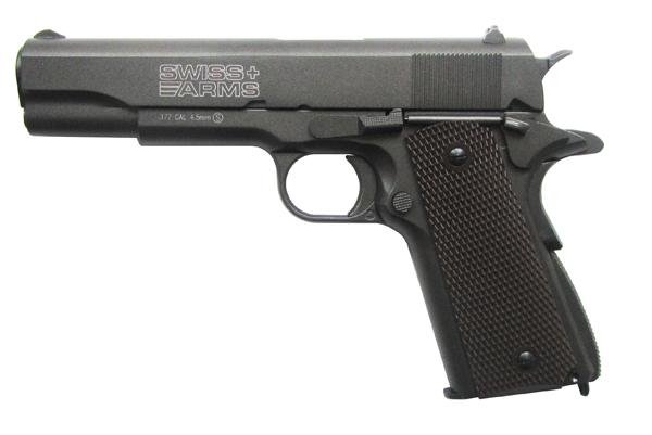 "Пистолет пневматический Cybergun ""Swiss Arms P1911 (Colt 1911)"". 288710"