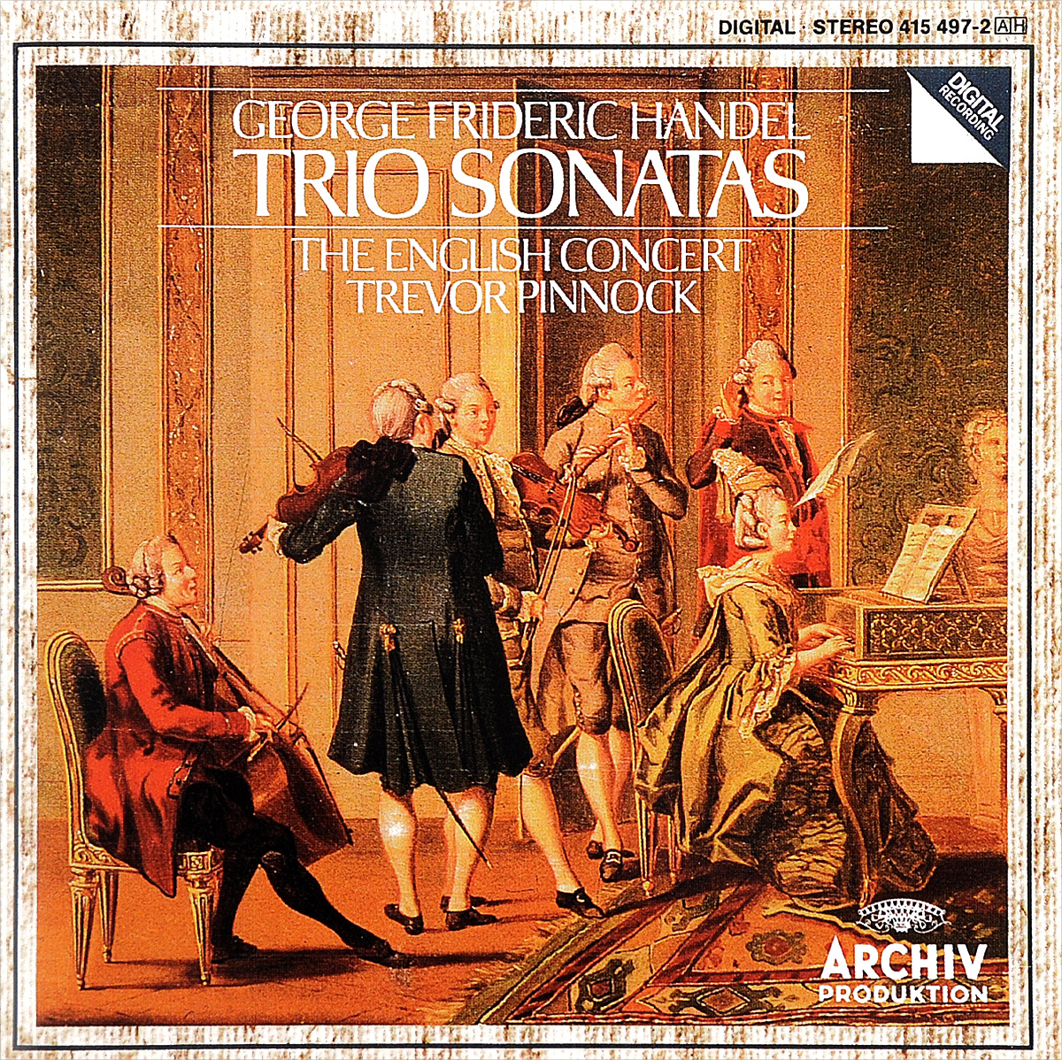 The English Concert,Тревор Пиннок Trevor Pinnock. Handel. Trio Sonatas саймон престон тревор пиннок the english concert orchestra simon preston trevor pinnock handel complete organ concertos 3 cd