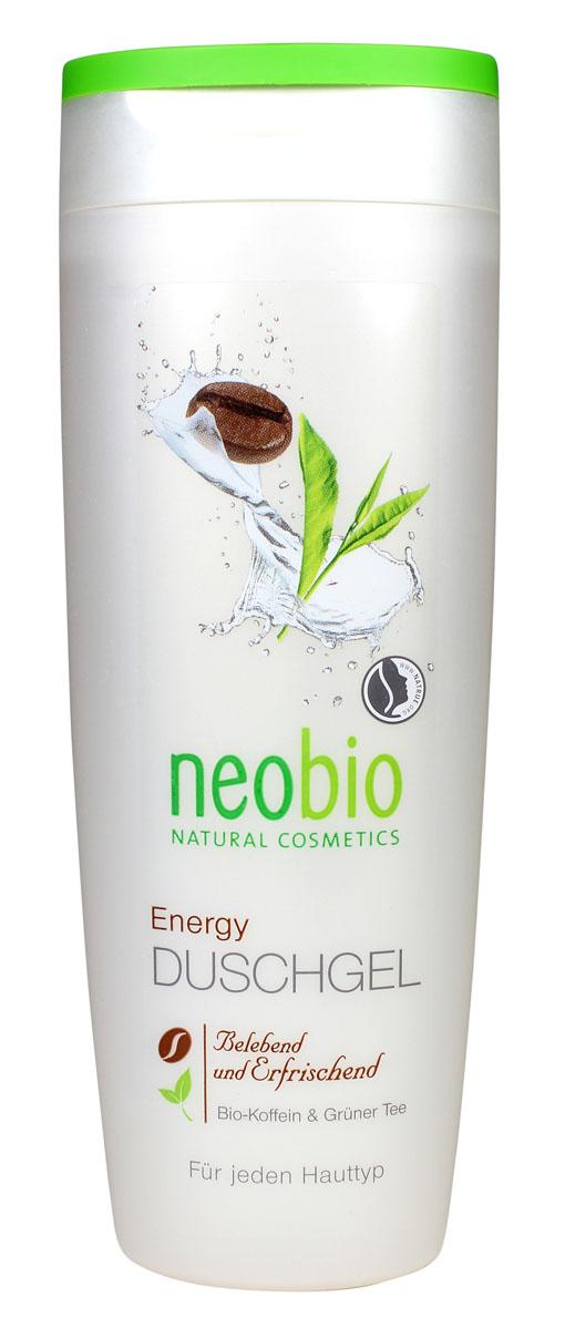 NEOBIO Гель для душа Энергия, 250 мл neobio детский гель для купания и пена для ванны с био алоэ и био календулой 250 мл