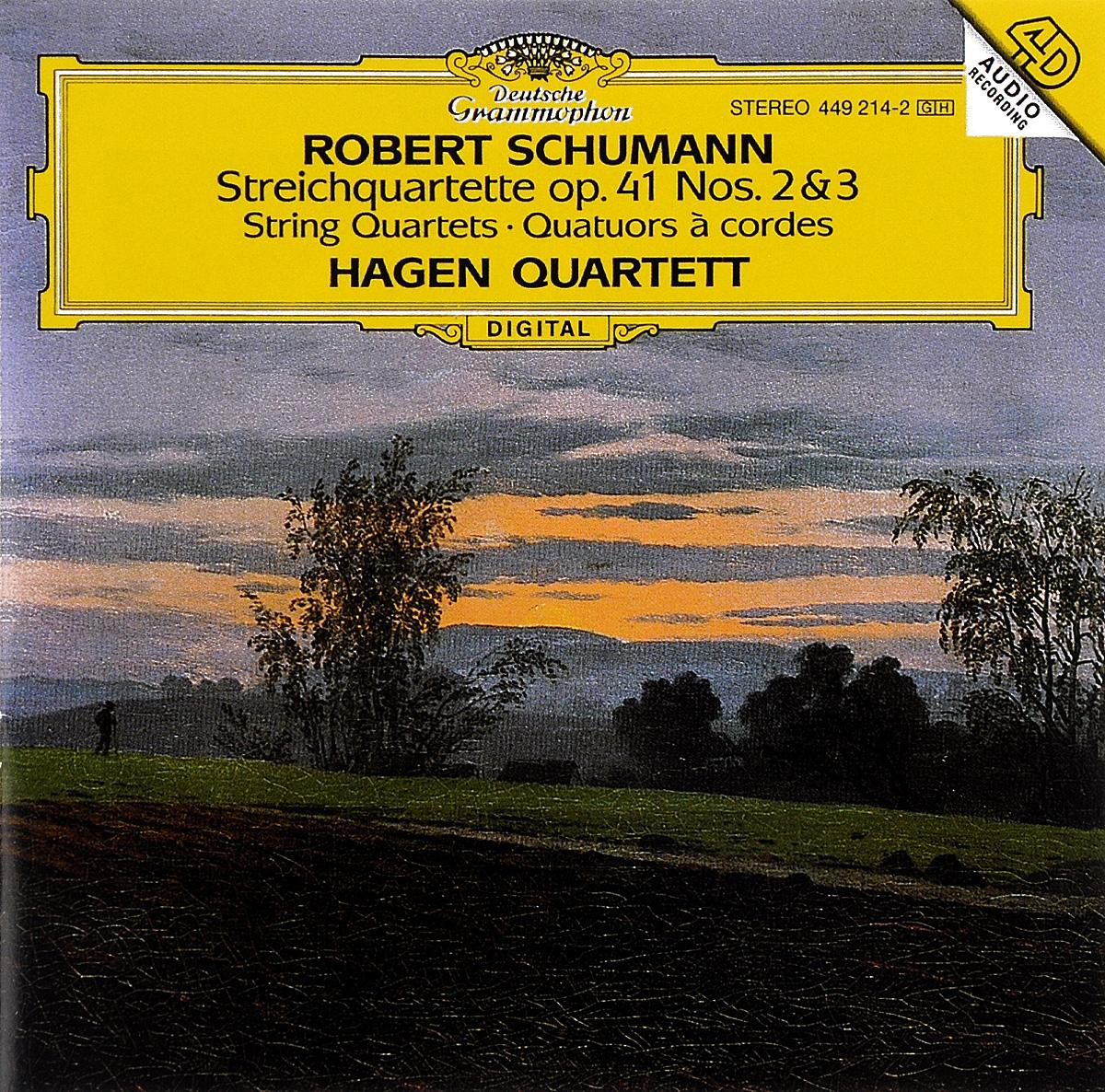 Hagen Quartett Hagen Quartett. Schumann. Streichquartette Op. 41 Nos. 2 & 3 farid hagen