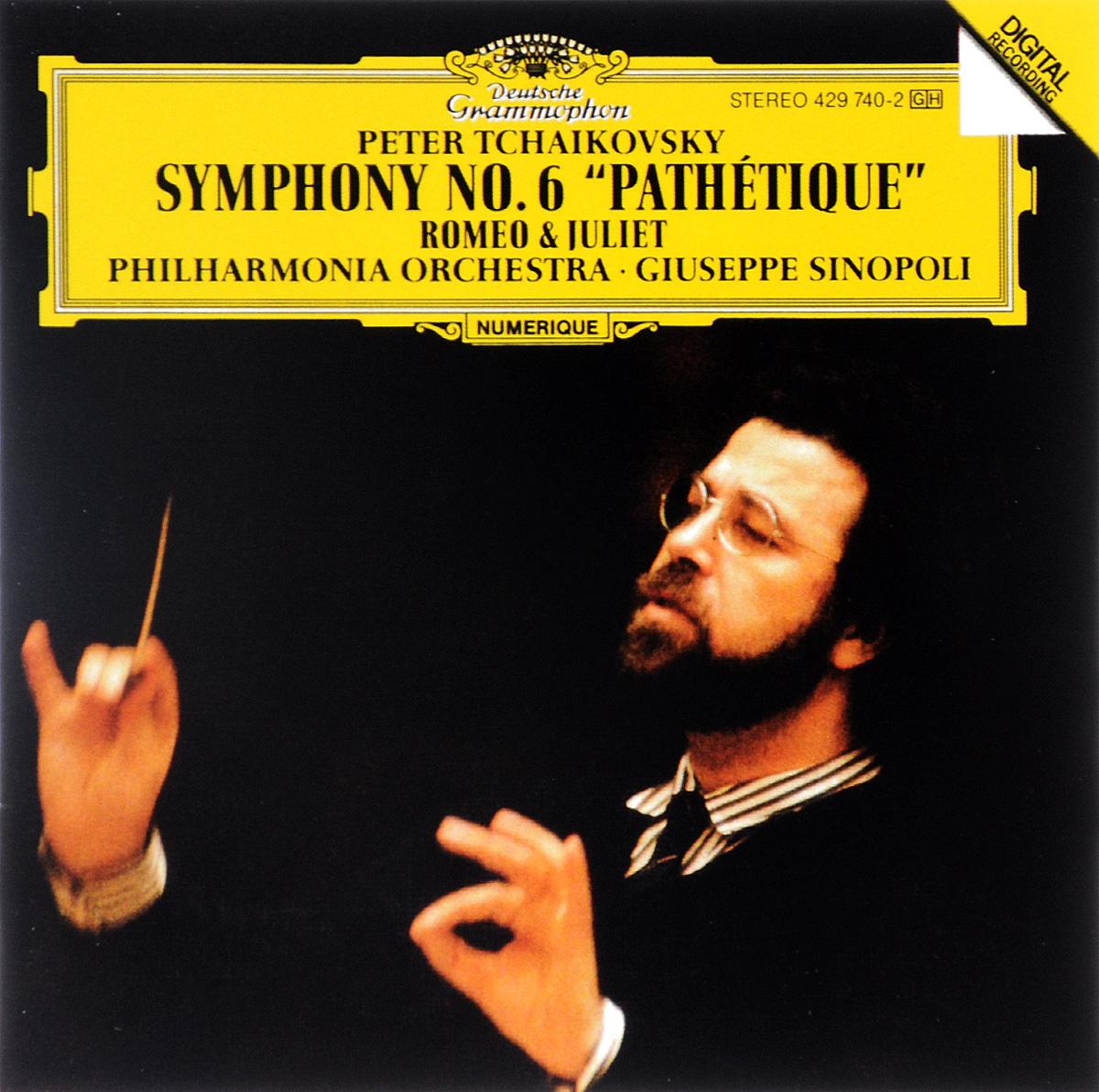 Philharmonia Orchestra,Джузеппе Синополи Giuseppe Sinopoli. Peter Tchaikovsky. Symphony No. 6 / Romeo & Juliet цены