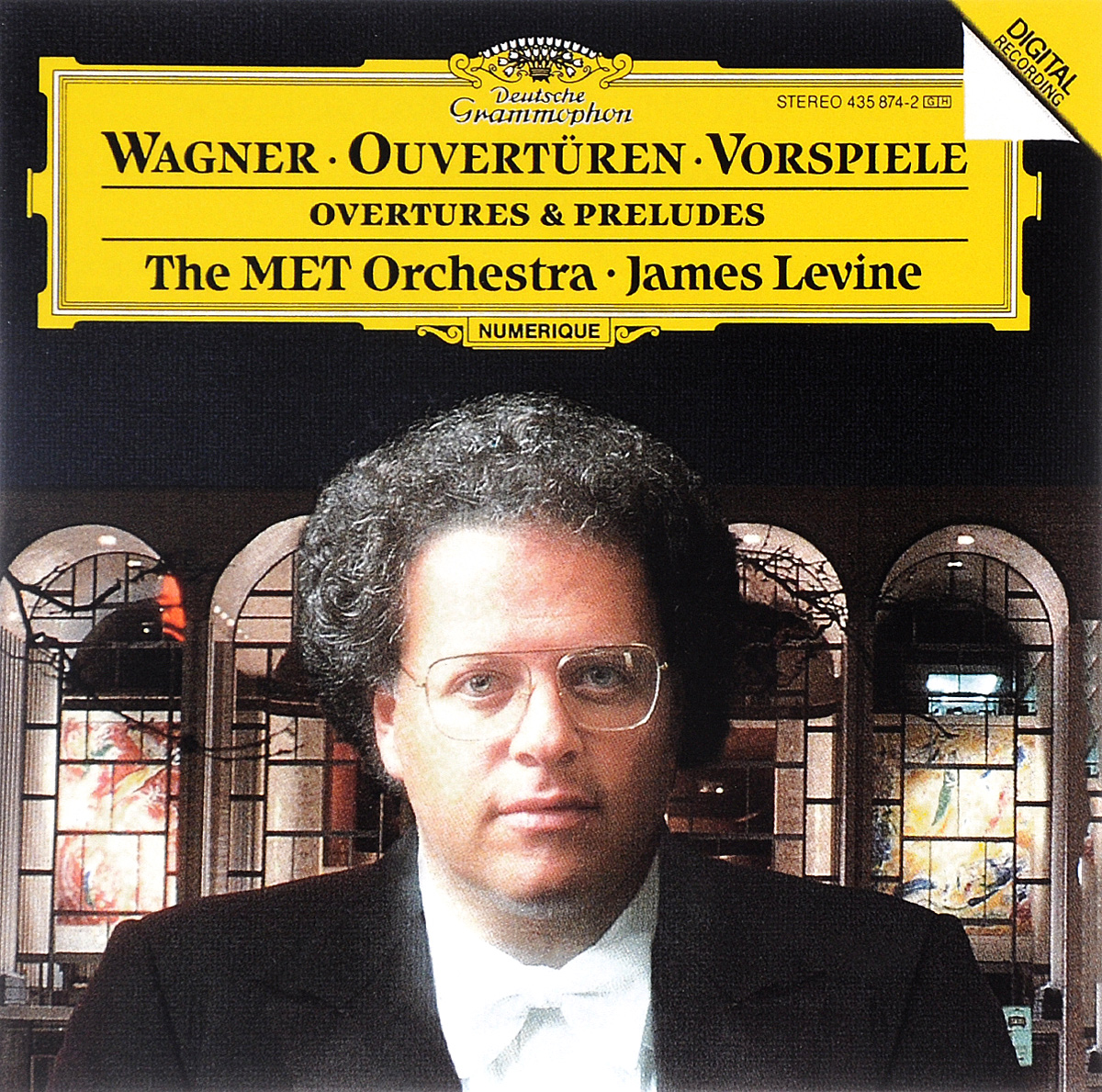 The MET Orchestra,Джеймс Левайн James Levine. Wagner. Ouverturen und Vorspiele wagner james levine der ring des nibelungen 8 dvd