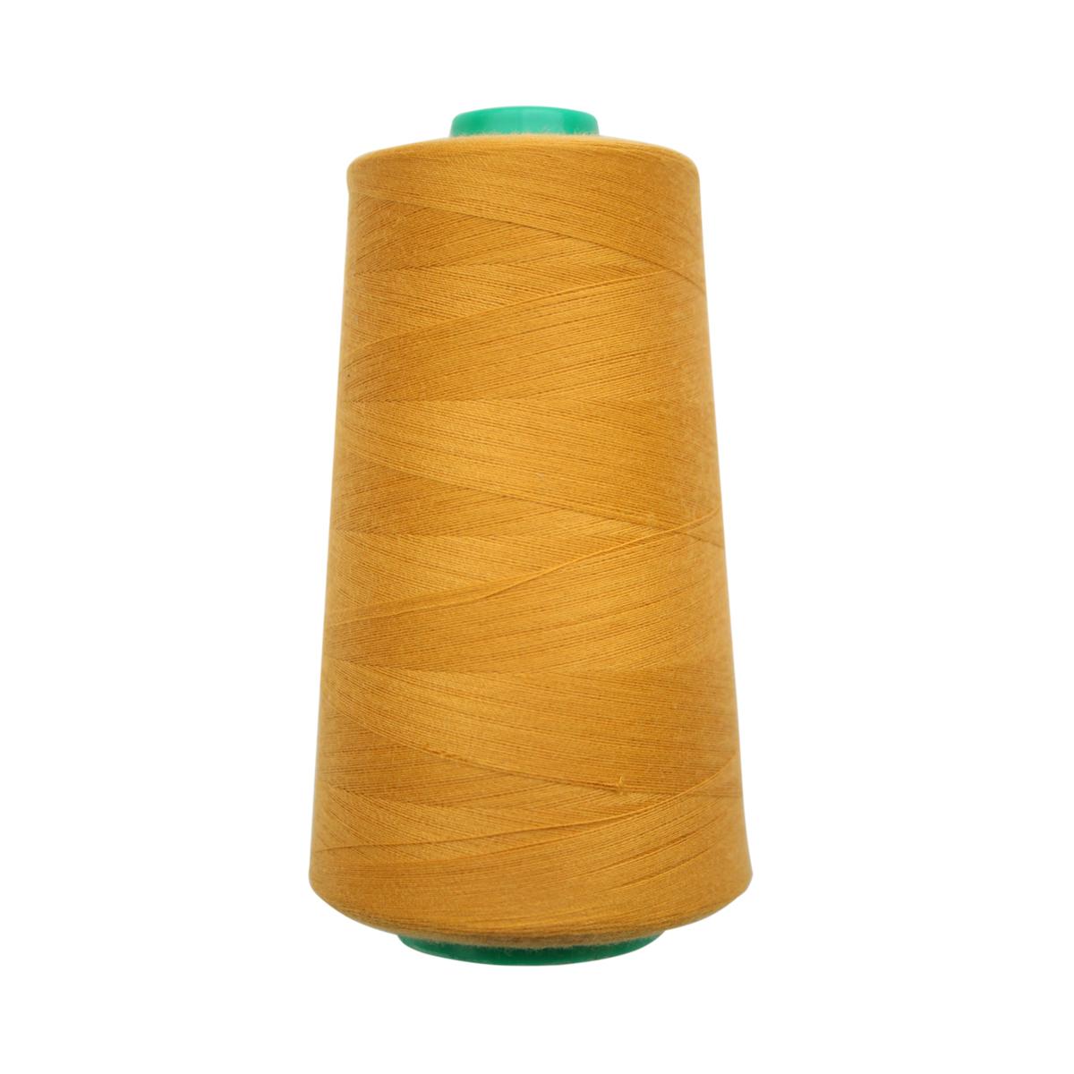Нитки для шитья Bestex, цвет: пастельно-горчичный (017), 50/2, 5000 ярд набор шкатулок для рукоделия bestex 3 шт zw001250