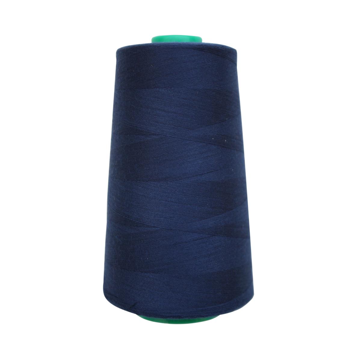 Нитки для шитья Bestex, 50/2, 5000 ярдов, цвет: темно-синий (097)7700936-094Нитки для шитья Bestex произведены из 100% полиэстеровых штапельных (коротких) волокон высокой прочности и низкой степени растяжения. Благодаря методу соединения концов волокон без узлов, а также силиконовой обработке, обеспечивается равномерность нитей по всей длине и блеск. Сфера использования: трикотаж, ткани малого веса, оверлочные швы, отделка краев. Рекомендуется для вышивки на бытовых швейных машинах, а также для ручной вышивки. Размер игл: №70-80. Рекомендуем!
