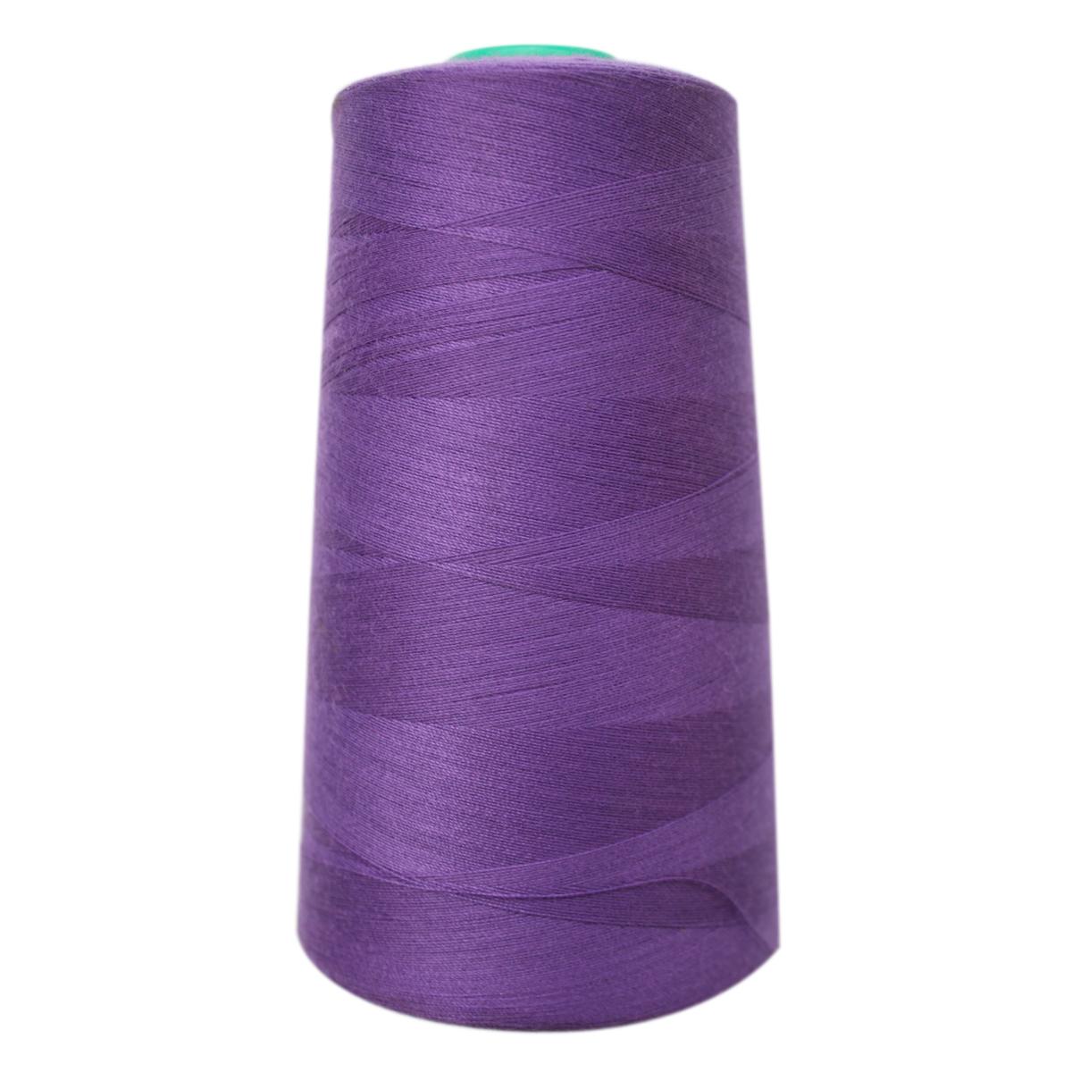 """Нитки для шитья """"Bestex"""", цвет: светло-фиолетовый (101), 50/2, 5000 ярдов"""
