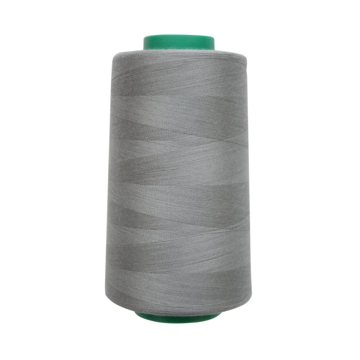 Нитки для шитья Bestex, цвет: серо-стальной (197), 50/2, 5000 ярдов (4572 м) набор шкатулок для рукоделия bestex 3 шт zw001250