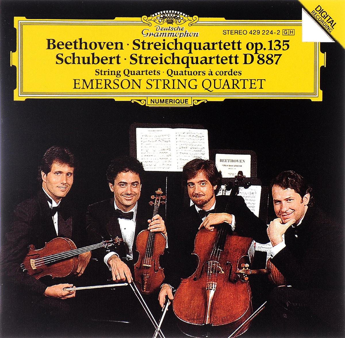 Emerson String Quartet Emerson String Quartet. Beethoven. Streichquartett Op. 135 / Schubert. Streichquartett D 887 a reichel string quartet in c major op 8