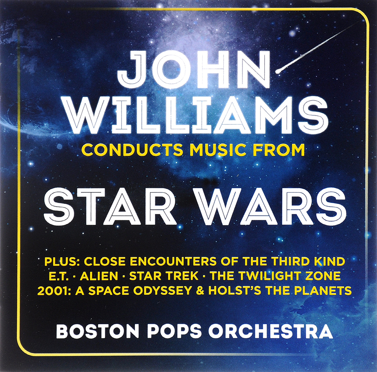Фото - The Boston Pops Orchestra John Williams, Boston Pops Orchestra. Music From Star Wars (2 CD) the london symphony orchestra john williams star wars attack of the clones