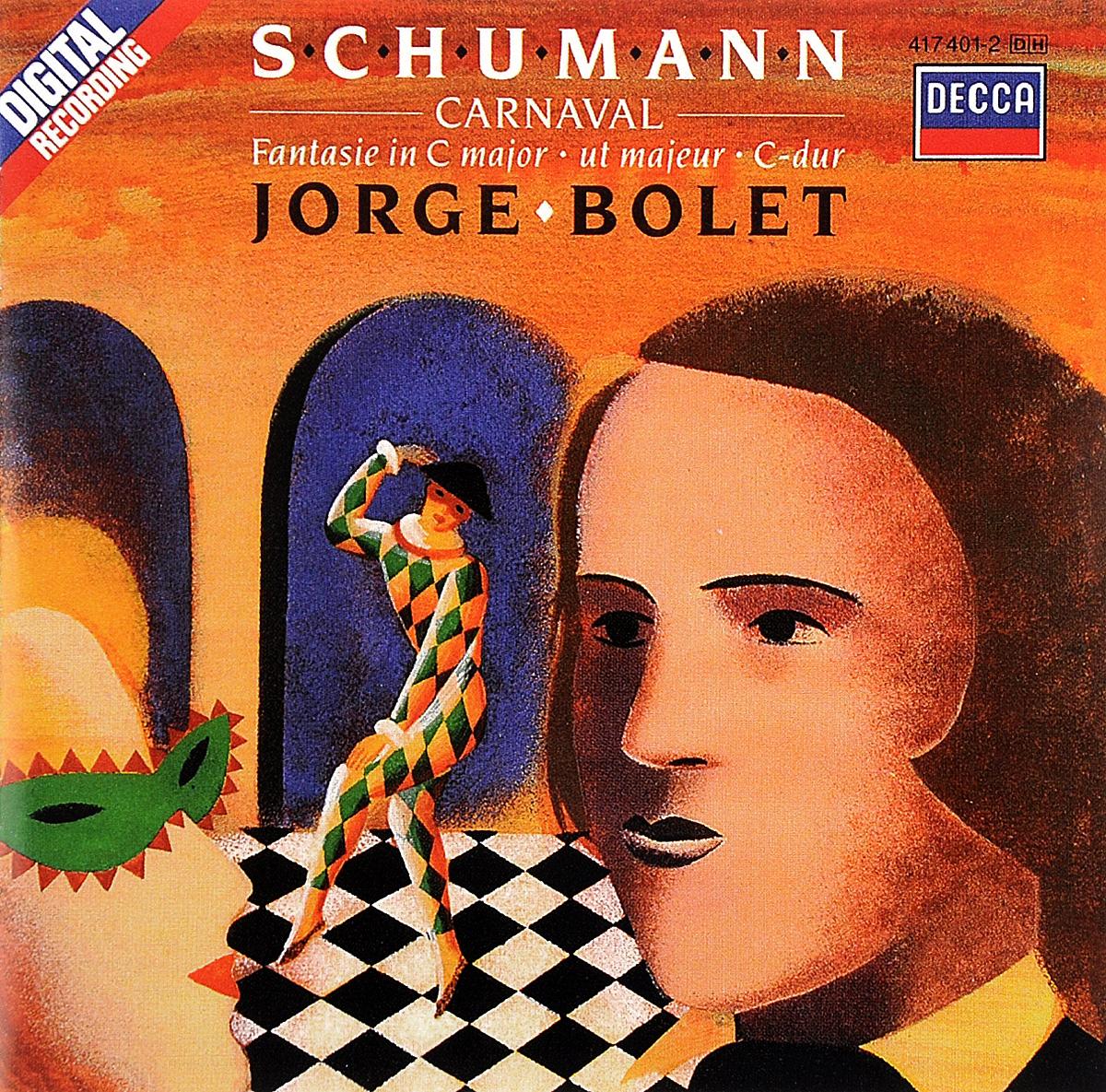 Хорхе Болетт Jorge Bolet. Schumann. Carnaval / Fantasie jorge drexler quito