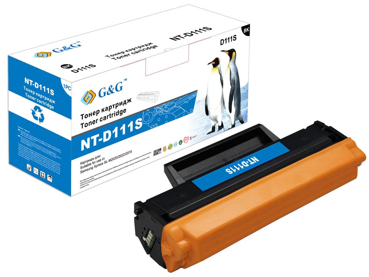 Картридж G&G NT-D111S, черный, для лазерного принтера велосипед focus culebro sl 1 0 20 g 30 g 2013