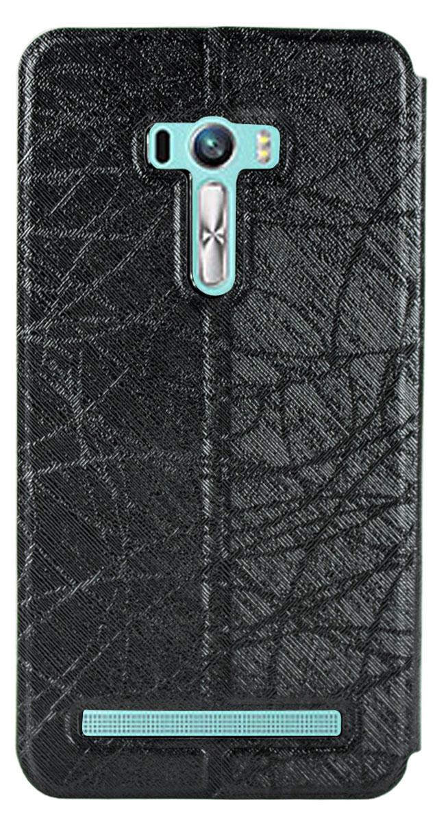 IT Baggage Flip Cover чехол для Asus ZenFone Selfie ZD551KL, Black it baggage защитное стекло для asus zenfone selfie zd551kl