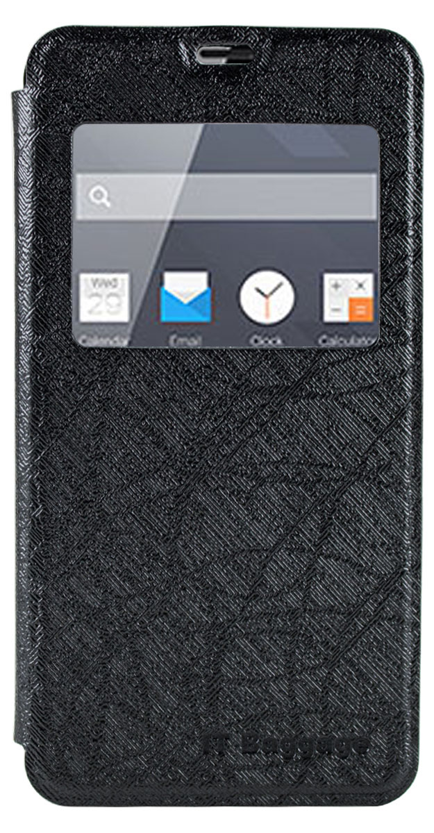 IT Baggage чехол для Meizu M2 mini, Black аксессуар чехол meizu m2 mini good egg кожа black
