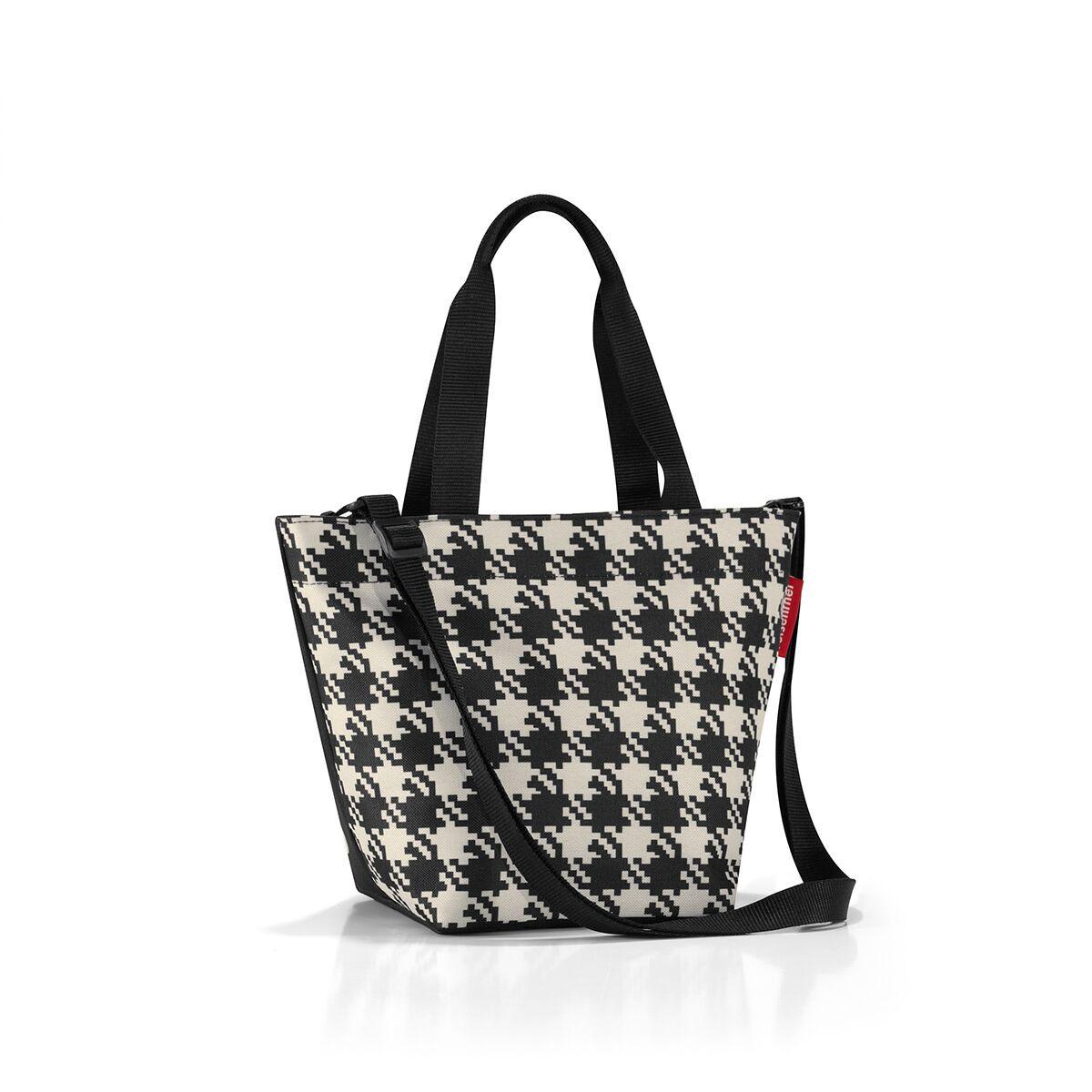 Сумка женская Reisenthel, цвет: черный, светло-бежевый. ZR7028 сумка женская reisenthel цвет бежевый черный ms7027