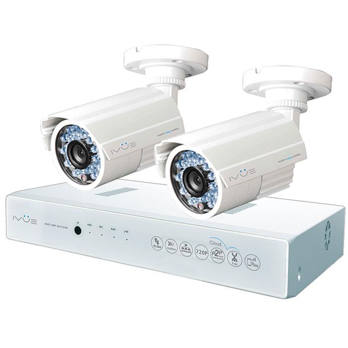 iVue D5004 AHC-B2 Дача 4+2 комплект видеонаблюдения цена