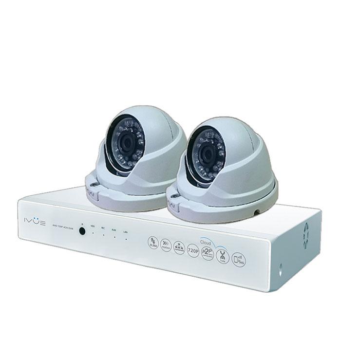 iVue D5004 AHC-D2 Для Дома и Офиса 4+2 комплект видеонаблюдения цена
