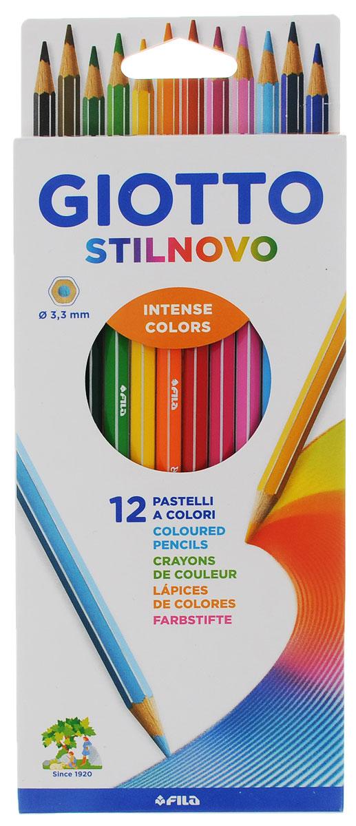 Giotto Набор цветных карандашей Stilnovo 12 цветов
