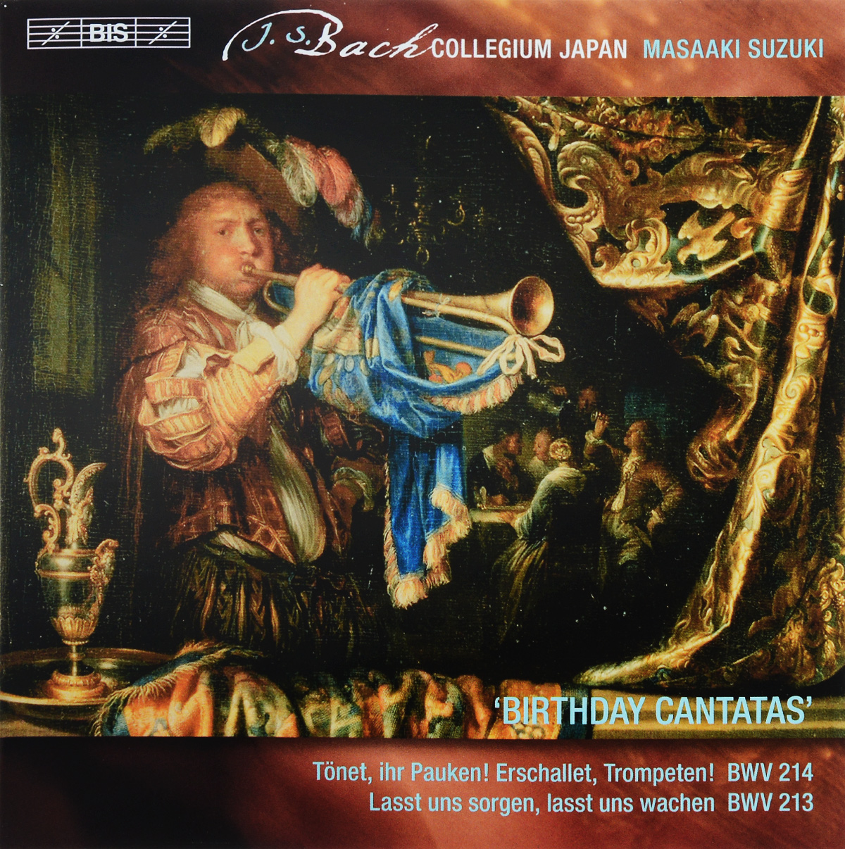 Bach Collegium Japan Chorus & Orchestra,Масааки Сузуки,Joanne Lunn,Робин Блазе,Доминик Вернер,Макото Сакурада Bach Collegium Japan, Masaaki Suzuki. Bach. Secular Cantatas. Vol. 5 (SACD)
