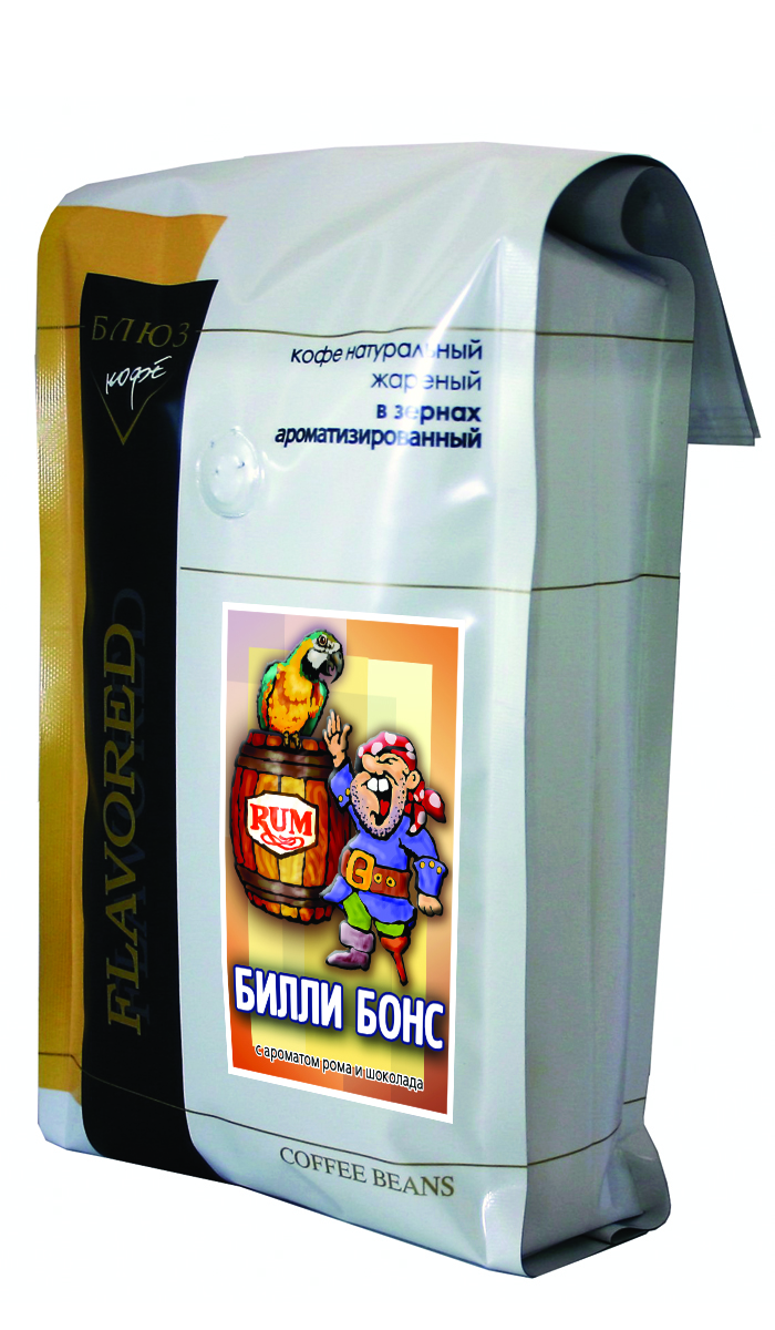Блюз Ароматизированный Билли Бонс кофе в зернах, 1 кг блюз ароматизированный билли бонс кофе в зернах 200 г