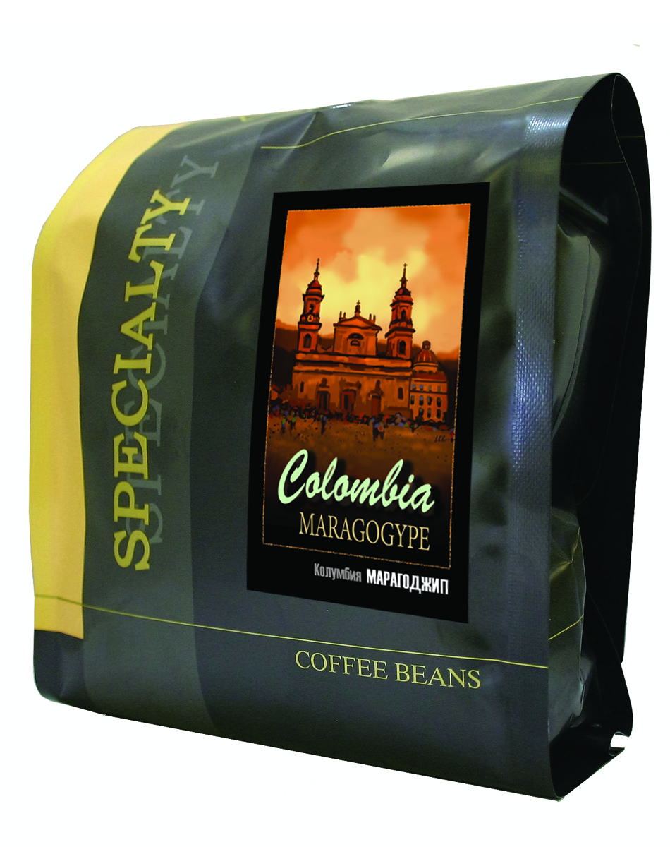 Блюз Марагоджип Колумбия кофе в зернах, 500 г цена