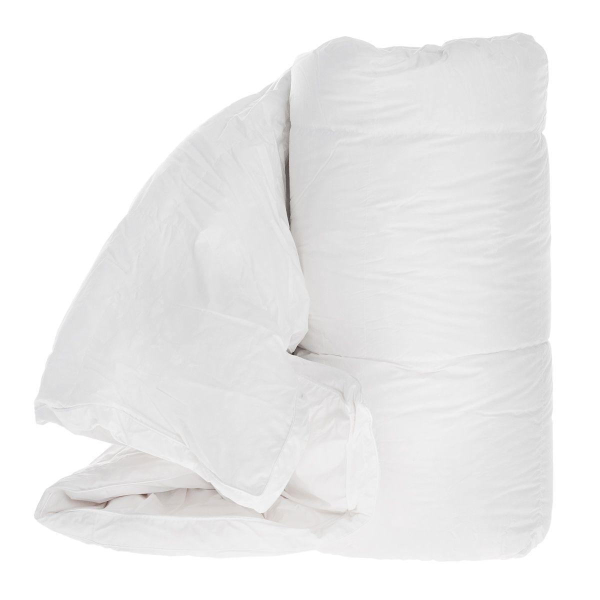 Одеяло TAC Shiny, наполнитель: гусинные пух и перья, 155 x 215 см одеяло натуральное 320 г м² 70% пуха обработка против клещей
