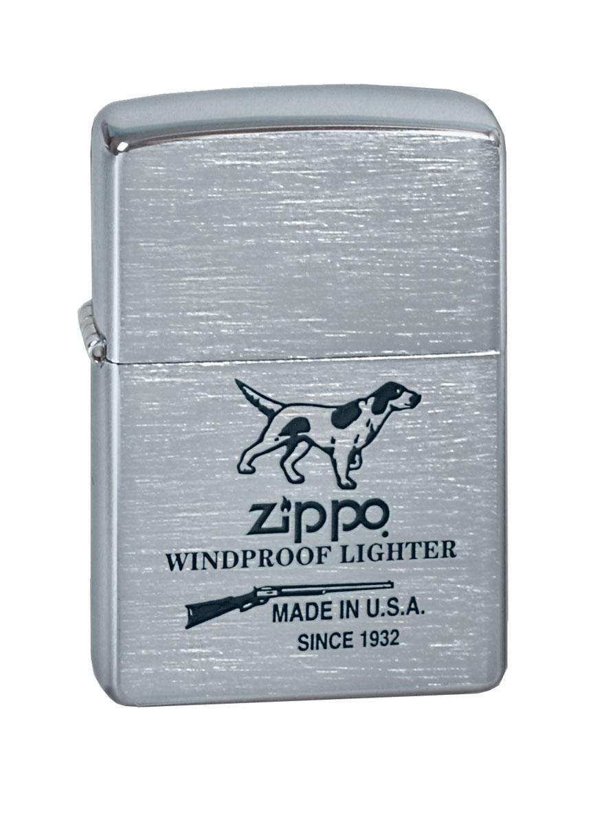 """Зажигалка Zippo """"Classic. Hunting Tools"""", 3,6 х 1,2 х 5,6 см"""