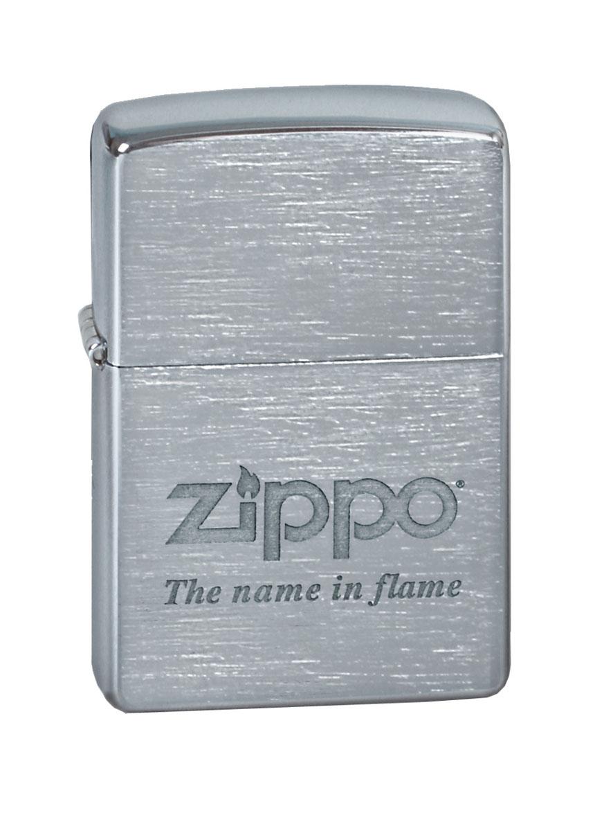"""Зажигалка Zippo """"Classic. Name In Flame"""", 3,6 х 1,2 х 5,6 см"""