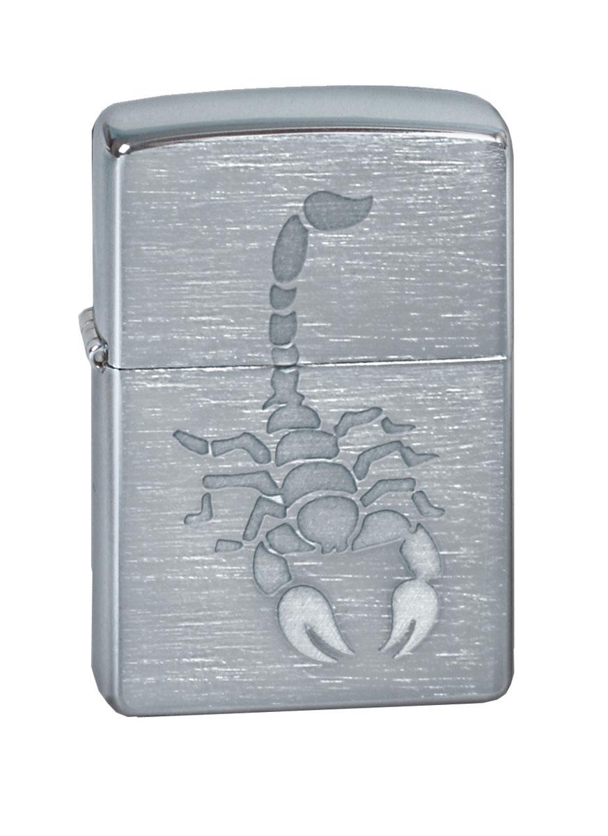 """Зажигалка Zippo """"Classic. Scorpion"""", 3,6 х 1,2 х 5,6 см"""
