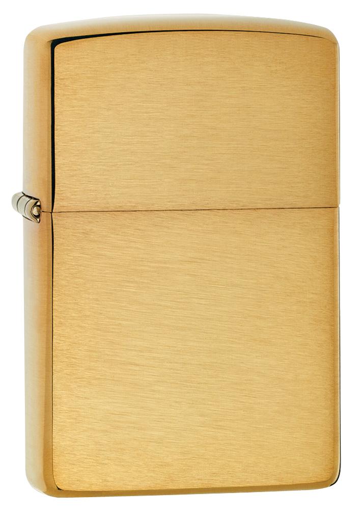"""Зажигалка Zippo """"Classic"""", 3,6 х 1,2 х 5,6 см. 204B"""