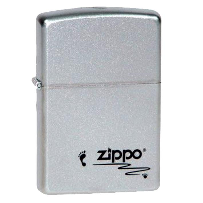 Зажигалка Zippo Classic. Footprints, 3,6 х 1,2 х 5,6 см зажигалки zippo z 205 footprints