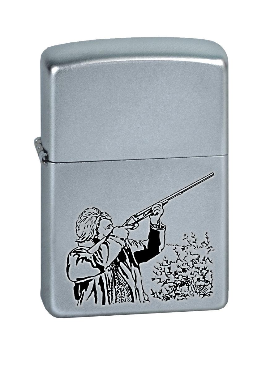 """Зажигалка Zippo """"Classic. Hunter"""", 3,6 х 1,2 х 5,6 см"""