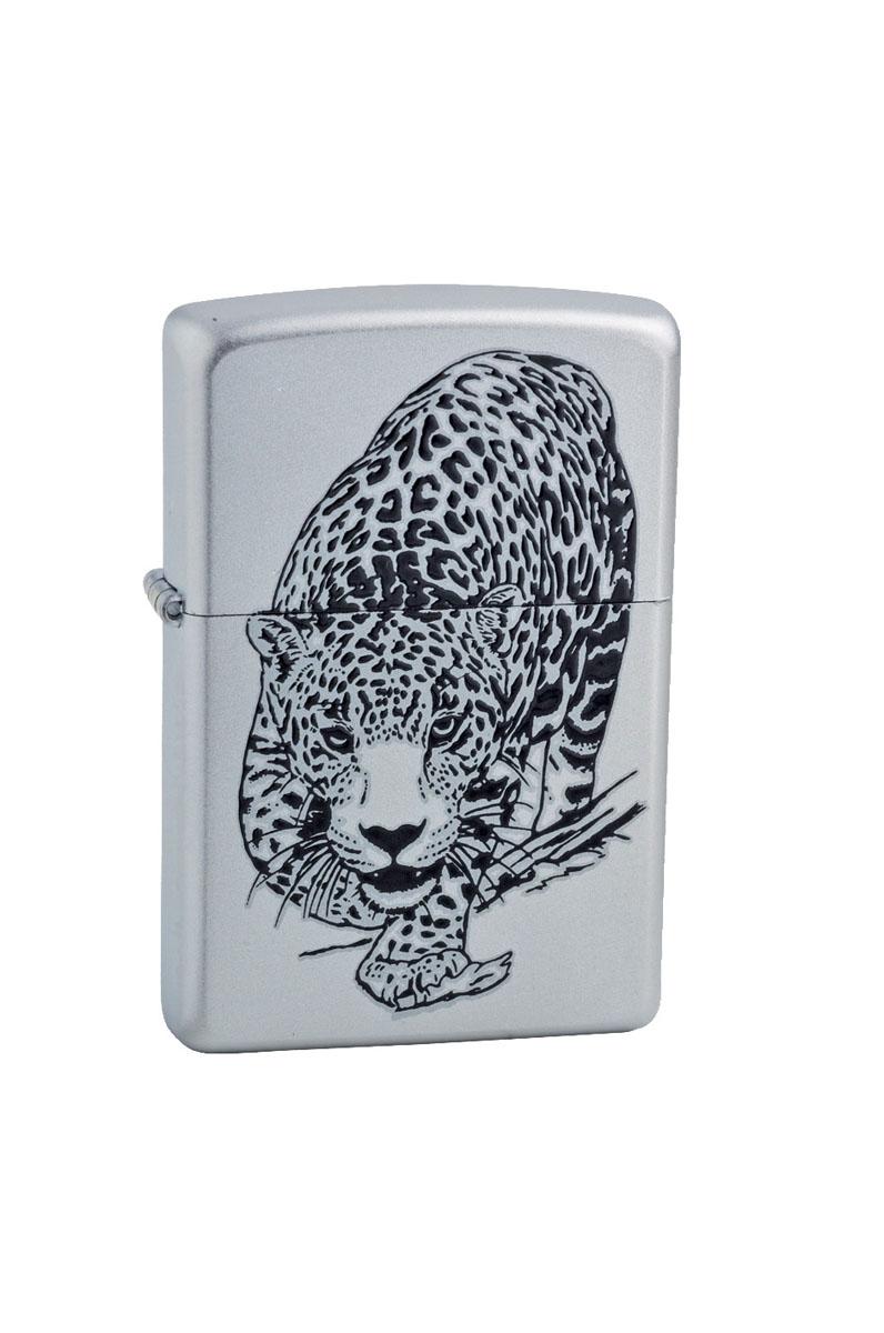 """Зажигалка Zippo """"Classic. Leopard"""", 3,6 х 1,2 х 5,6 см"""