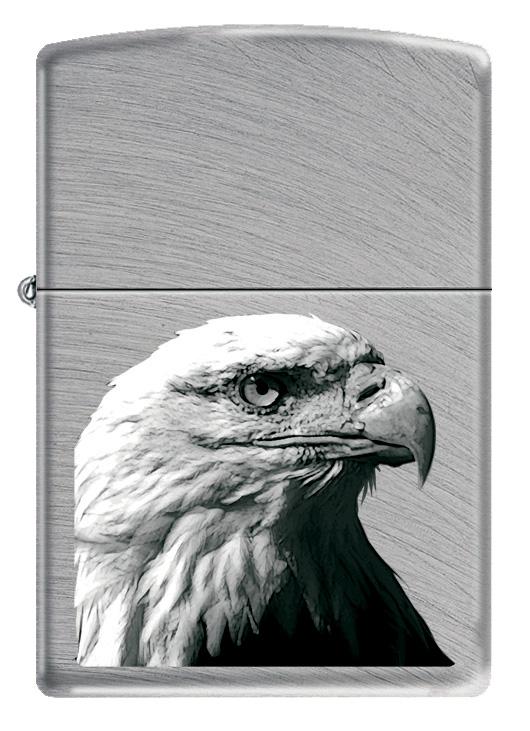 """Зажигалка Zippo """"Classic. Eagle Head"""", 3,6 х 1,2 х 5,6 см"""