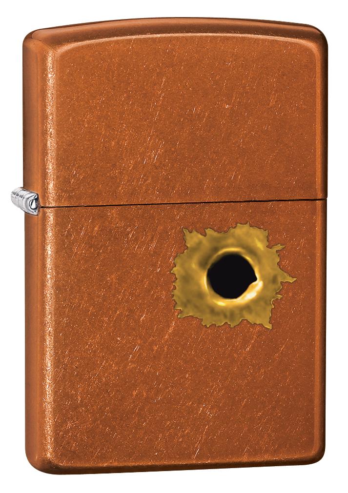 Зажигалка Zippo Gold Design, 3,6 х 1,2 х 5,6 см. 24717