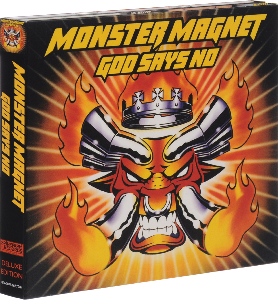 Monster Magnet Monster Magnet. God Says No. Deluxe Edition (2 CD) lotta says no
