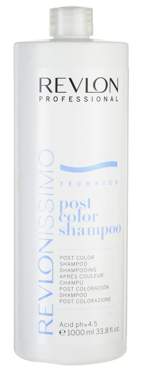 Revlon Professional Шампунь после окрашивания Post Color Shampoo 1000 мл цены