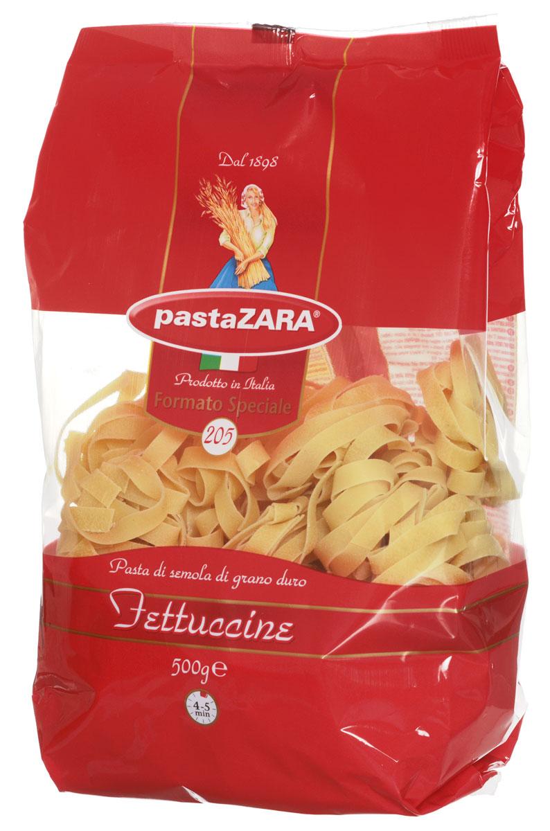 Pasta Zara Клубки широкие феттучине макароны, 500 г макаронные изделия pasta zara пастра зара 500 гр клубки яичные