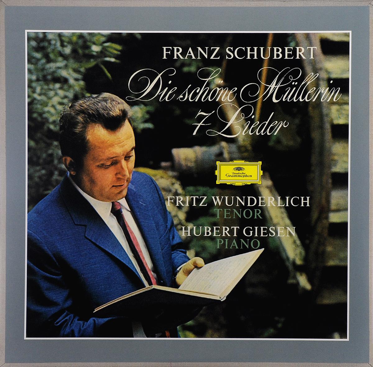 лучшая цена Фритц Вундерлих,Хуберт Гисен Fritz Wunderlich. Hubert Giesen. Franz Schubert. Die Schone Mullerin / 7 Lieder (LP)