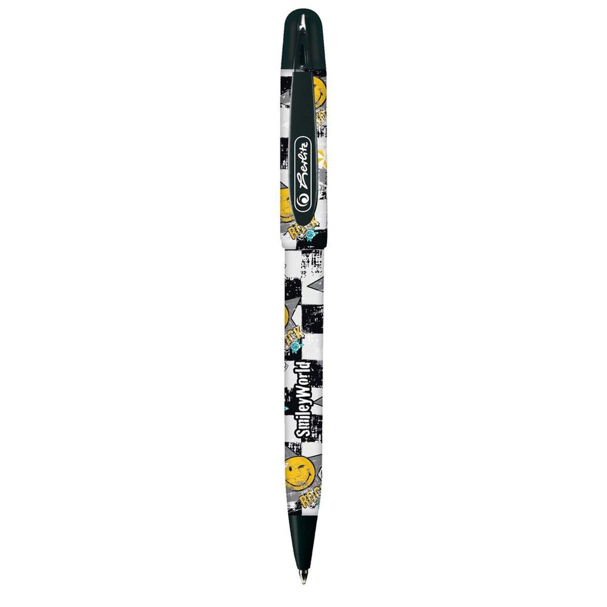 Herlitz Ручка шариковая Smiley World вероятность того что новая шариковая ручка пишет плохо равна 0 26