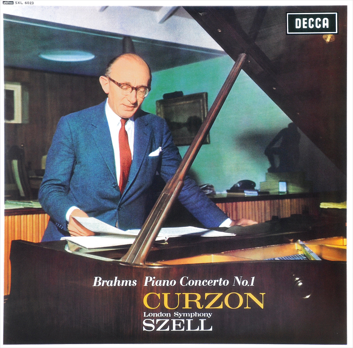 Джордж Селл,Клиффорд Курзон,The London Symphony Orchestra George Szell. Brahms. Piano Concerto No. 1 (LP) krystian zimerman brahms piano concerto no 1