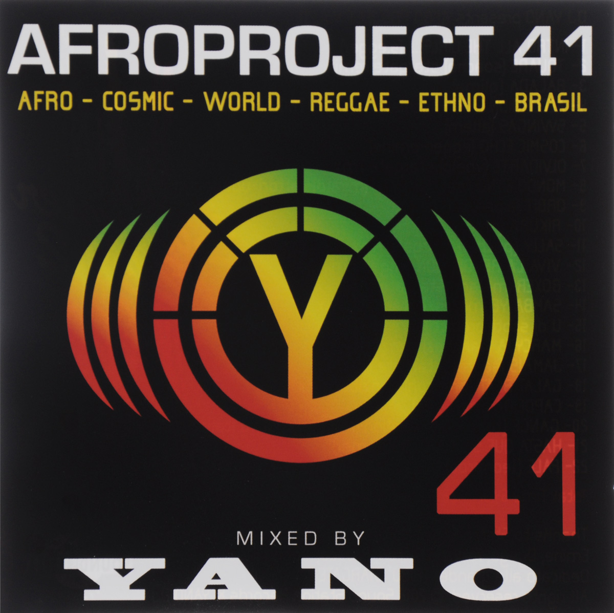 Dj Yano DJ Yano. Afro Project Vol. 41 цена и фото