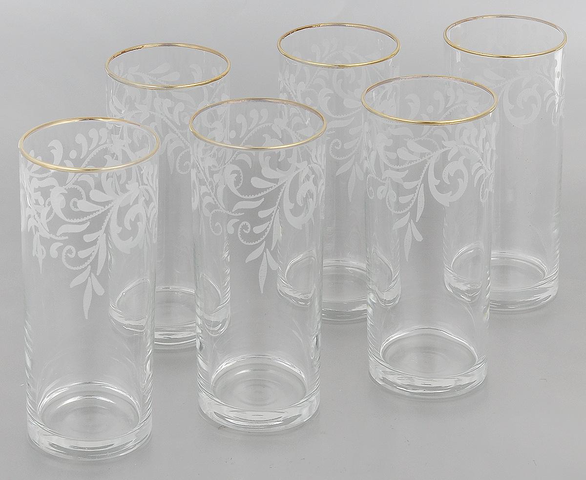 Набор стаканов Гусь-Хрустальный Веточка, 350 мл, 6 шт набор стаканов гусь хрустальный веточка 350 мл 6 шт