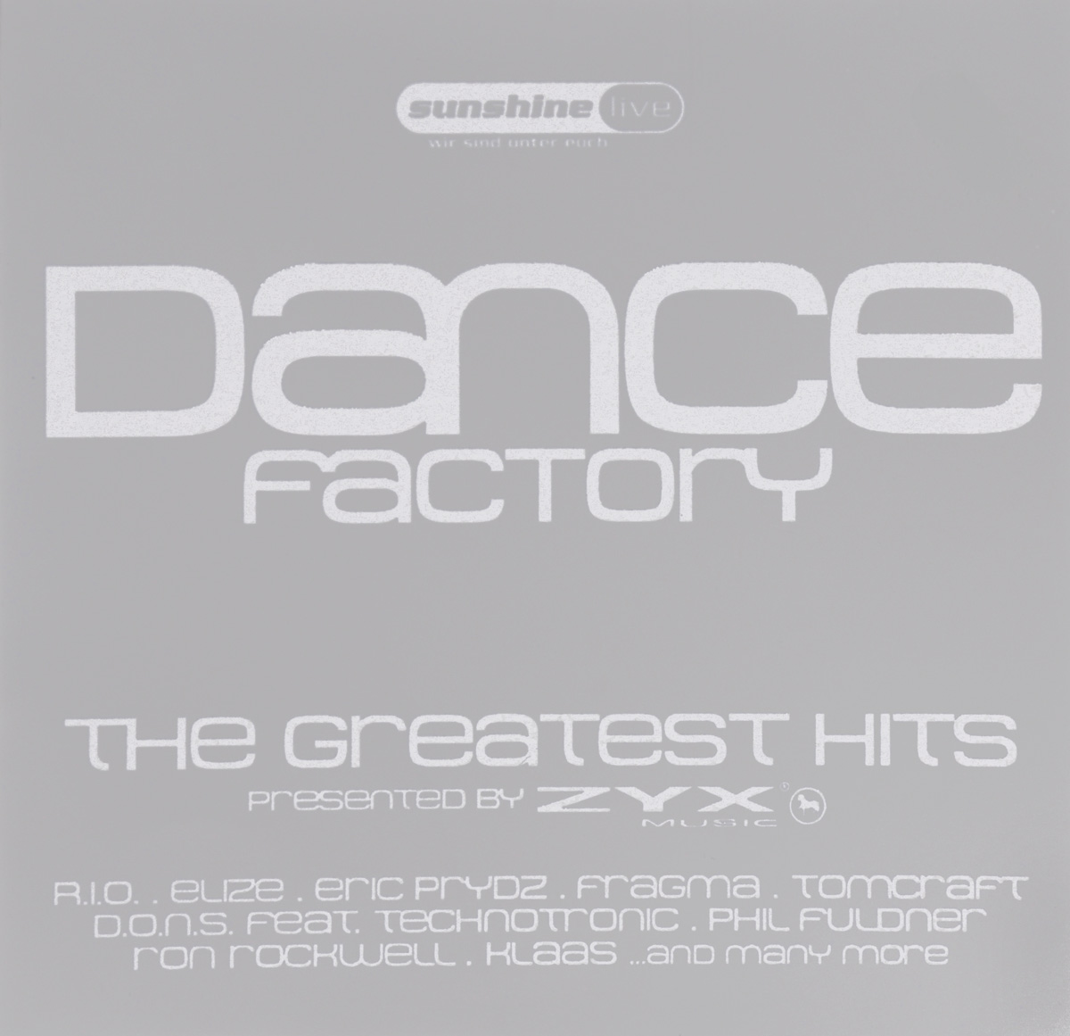 R.I.O.,EliZe,Эрик Прайдз,Jaybee,Нильс Ван Гог,Stfu,Джош Джексон,Jansen,Пэрси Дэйк,De-Grees,DJ Tomcraft,D.O.N.S.,Technotronic,Фил Фулднер,Nightwatchers,Blank & Jones,Тиллманн Ахмечер,BBE,Wonderland Avenue,Emmanuel Top Dance Factory. The Greatest Hits (2 CD) dance top hits 6 4 cd