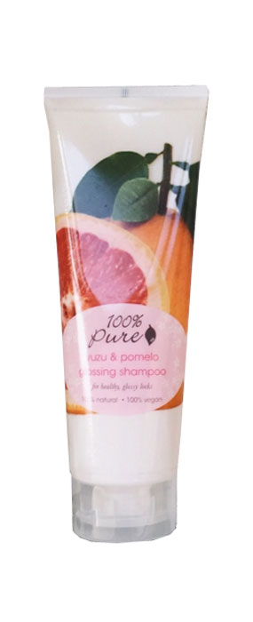 100% Pure Кондиционер для блеска волос Юзу и Помело, 236 мл