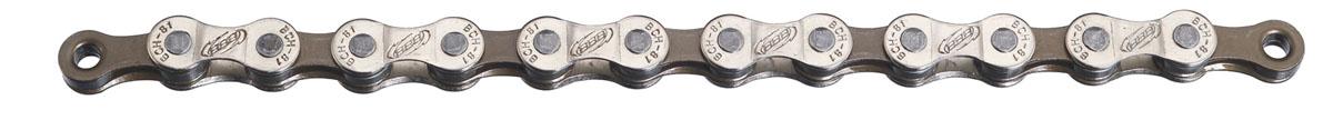 цена на Цепь BBB PowerLine 8 speed 114 links Gray Nickel