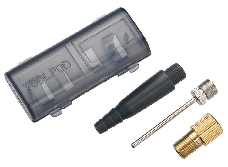 Комплект игл в кейсе BBB valve adapter kit голова для насоса bbb dualhead 2 0 цвет черный